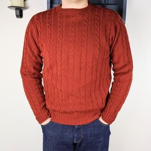 Jantzen Country Squire Vintage Cable Knit Sweater